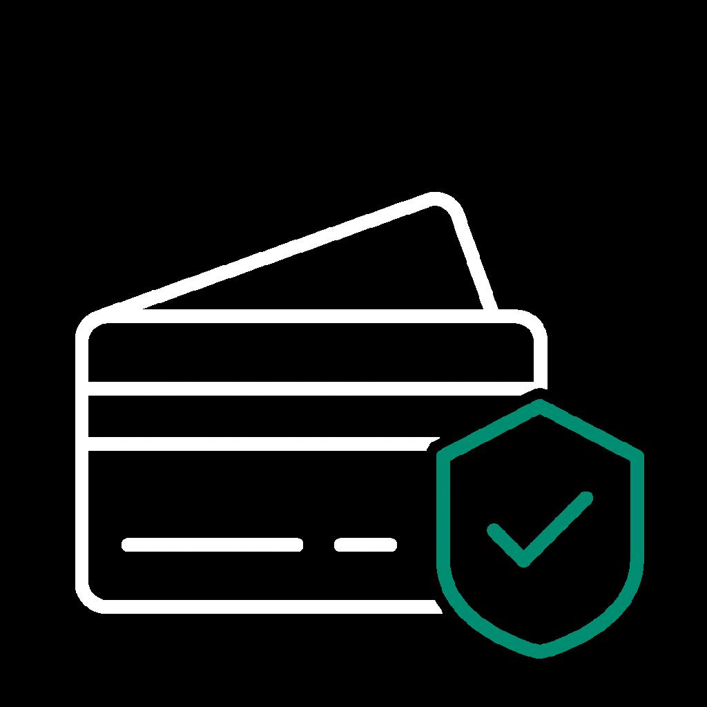 Pictogramme paiement sécurisé